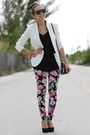 White-zara-blazer-black-forever-21-shirt-black-mimi-boutique-bag