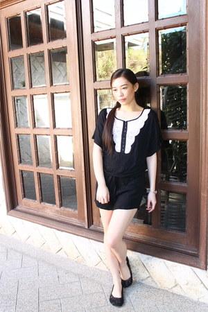 H&M dress - cotton on flats