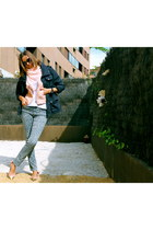 BLANCO shoes - H&M jeans - dior sunglasses
