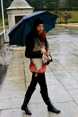 Sergio Rossi boots - Primark jeans - Marithe Francois Girbaud jacket