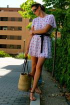 Primark dress - Prada sunglasses - Zara sandals