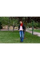 Primark scarf - La Martina boots - Salsa Jeans jeans - H&M jacket