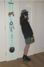 Black-zara-boots-charcoal-gray-elli-hat-black-nasty-gal-sweater-heather-gr