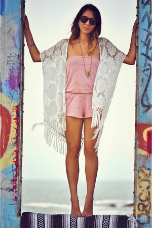 En Creme sweater - Billabong romper