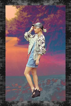 H&M Trend jacket - H&M hat - Jeffrey Campbell wedges