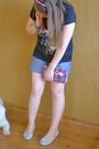 White-melissa-shoes-black-zara-t-shirt-pink-accessories