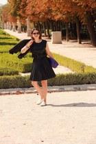 shoes - bag - top - Zara skirt