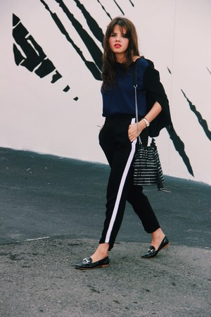 shoes - bag - Zara pants - top