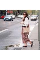 shoes - bag - Zara pants