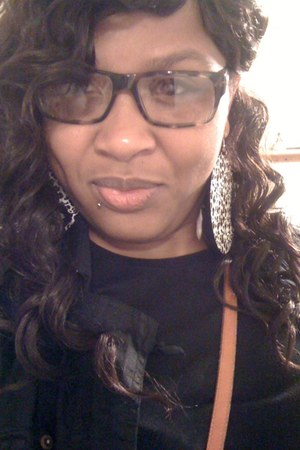 versace glasses - dooney & burke bag - cheetah print earrings