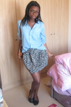 Ralph Lauren shirt - Primark skirt - Office shoes - accessories
