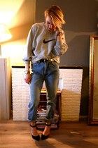 nike sweater - Primark heels