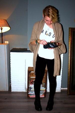 H&M shirt - Vanilia cardigan