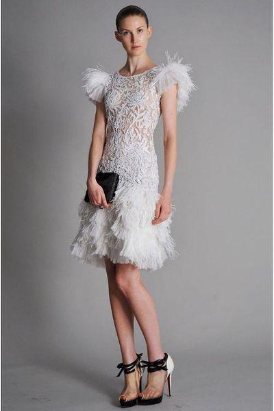 White Marchesa Dresses - &quot-Marchesa&quot- by darianrose - Chictopia