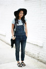 Wool-floppy-h-m-hat-leather-zara-sandals-striped-crop-forever-21-top