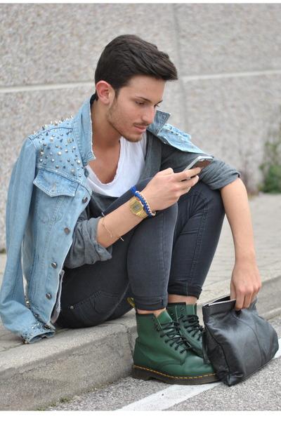 Men S Green Dr Martens Shoes Balenciaga Bags Casio