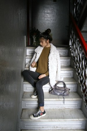 black CarMar jeans - mustard Isabel Marant Etoile sweater