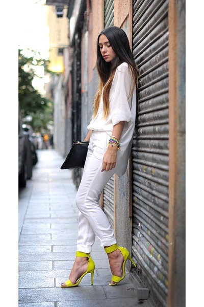 Yellow Shirt White Pants - Inspiration about Yellow Shirt White ...