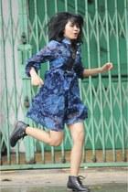 Nevada boots - vintage dress