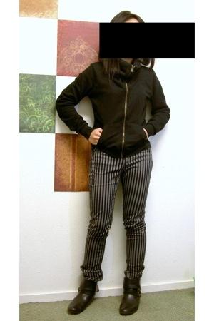 jacket - H&M jeans - boots