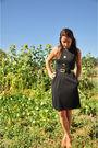 Black-donna-morgan-dress-beige-jessica-simpson-shoes-black-donna-morgan-belt