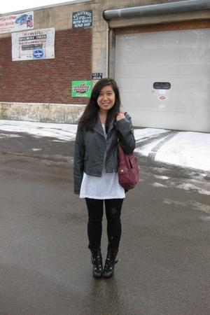 Target jacket - Target shirt - Target pants - GoJane boots