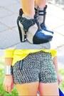 Black-sam-edelman-shoes-blue-carry-all-bag-made-u-look-purse