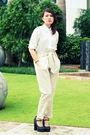 Vanilla-label-black-f21-philippines-white-thrifted-shirt