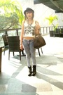 Beige-swank-clothing-gray-dark-white-jeans-black-boots-black-zara