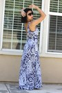 Blue-swim-maxi-victorias-secret-dress-aldo-sunglasses