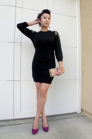 H&M dress - Jessica Simpson shoes - Aldo purse - H&M earrings