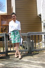 Ivory-gold-chain-forever-21-blouse-green-pencil-forever-21-skirt