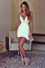 Off-white-forever-21-dress-silver-clutch-ligada-na-moda-purse
