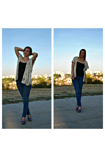 Accessorize bracelet - new look shoes - H&M jeans - Atmosphere blazer