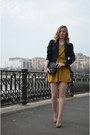 Stradivarius-shoes-lefties-dress-new-look-blazer-stradivarius-bag
