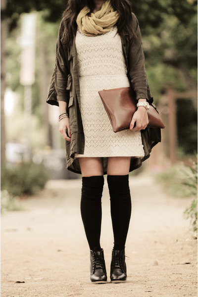 Cheap Monday dress - Pins & Needles dress - madewell boots - madewell scarf