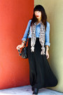 Black-american-eagle-outfitters-boots-blue-madewell-shirt