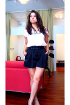 forever 21 top - forever 21 shorts - Guess shoes