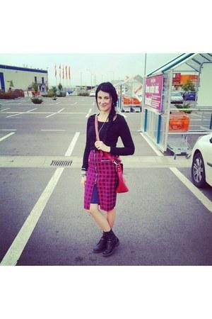 tartan DT skirt