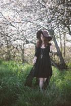 similar thrifted dress - similar thrifted dress - similar Lulus hat