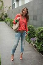 Zara blazer - Zara jeans