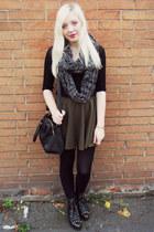 asos scarf - Topshop skirt