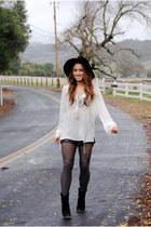 Zara shirt - Forever21 boots