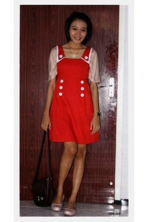 muaya clothingline dress - unbranded top - Crocs shoes