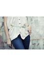 Navy-skinny-forever-21-jeans-beige-h-m-blouse-black-dany-platform-jessica-si