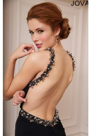 black Jovani 92976 dress