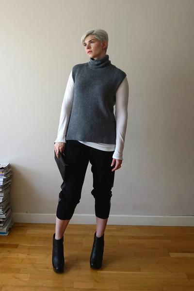 silver everlane sweater - white Velvet by Graham & Spencer top