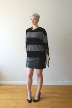 Elizabeth and James necklace - cotton striped Cheap Monday sweater