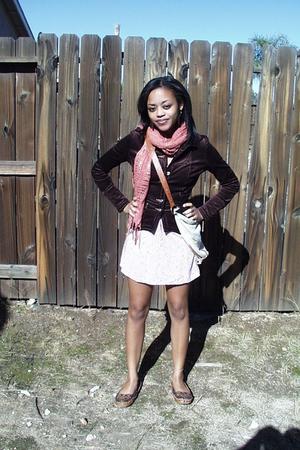 vintage dress - Forever 21 scarf