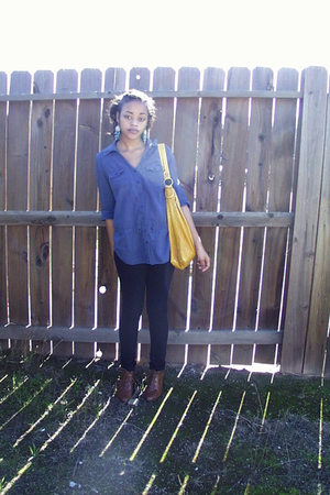 Forever 21 shirt - Forever 21 jeans - Ross accessories